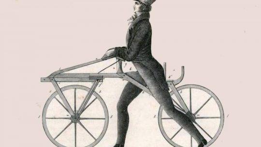 Em 1827 era inventada a Bicicleta